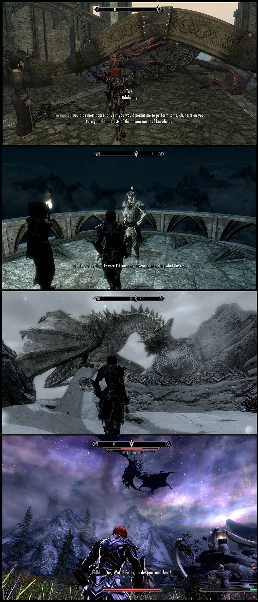 Skyrim the fight!